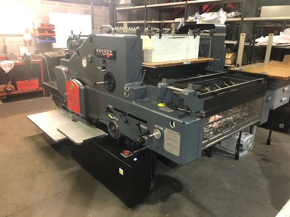 Heidelberg SBD Die-cutting press, Fully rebuilt to Kudos specification.