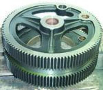 DOUBLE DRIVING GEAR C/W BUSHINGS