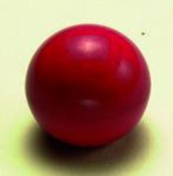 RED BALL KNOB 8MM THREAD
