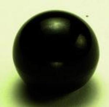 BLACK BALL KNOB 8MM THREAD