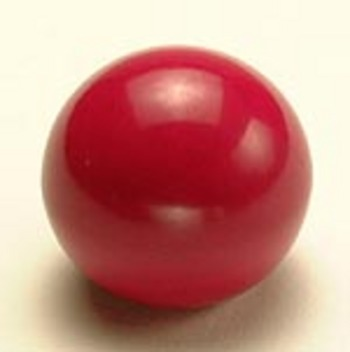 RED BALL KNOB 6MM