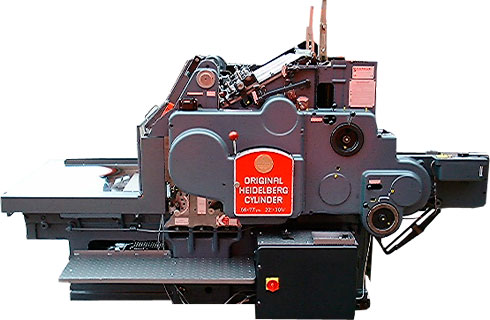 Kudos Heidelberg Cylinder Senior Graphic Machinery