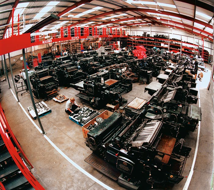 Reconditioned Heidelberg Cylinders