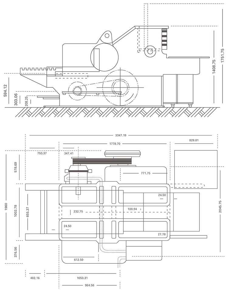 Heidelberg Cylinder Technical Diagrams